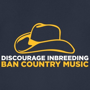 Ban Country Music! - Andningsaktiv T-shirt herr