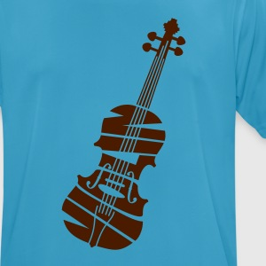 Violin - Men's Breathable T-Shirt
