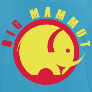 BIG MAMMOTH - Pustende T-skjorte for menn