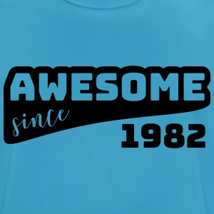 Awesome since 1982 / Birthday-Shirt - Men's Breathable T-Shirt