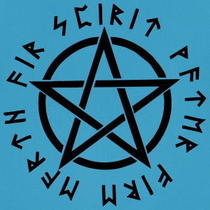 Pentagram, pentacle, magic, symbol, runes - Men's Breathable T-Shirt