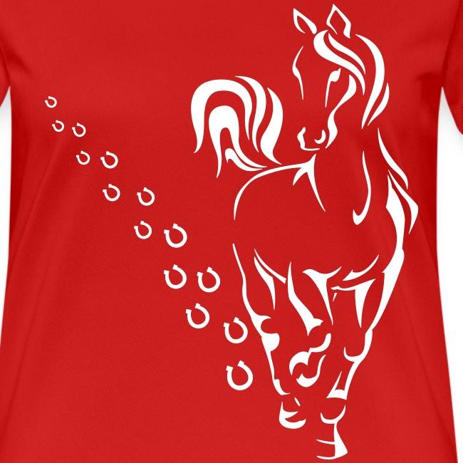 Vorschau: HORSEWALK - Frauen T-Shirt atmungsaktiv