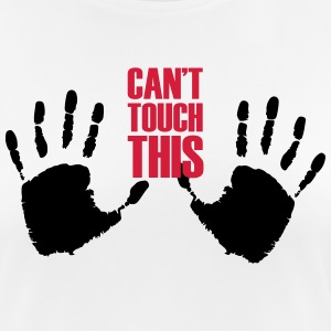 Can not touch this (2 hands) - Women's Breathable T-Shirt