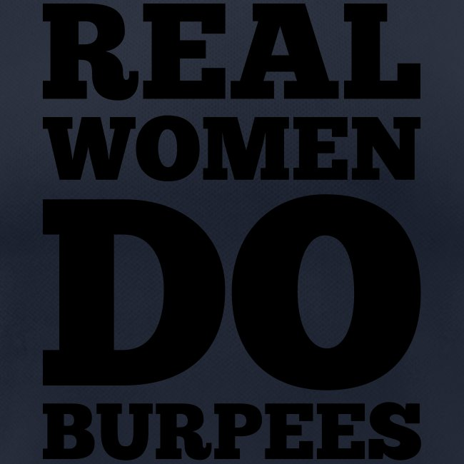 Real Woman Do Burpees #1