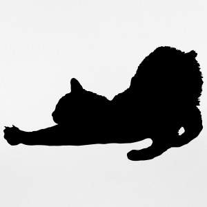 Vector Cat Silhouette - Women's Breathable T-Shirt