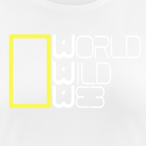 World Wild Web - Andningsaktiv T-shirt dam