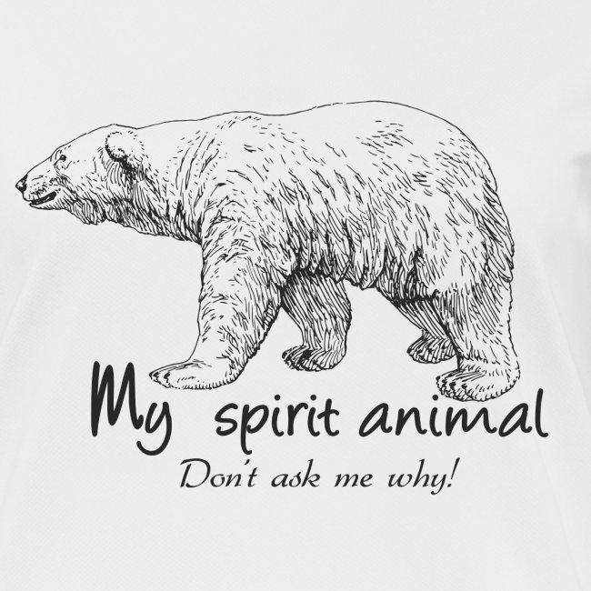 L'ours polaire est mon animal totem