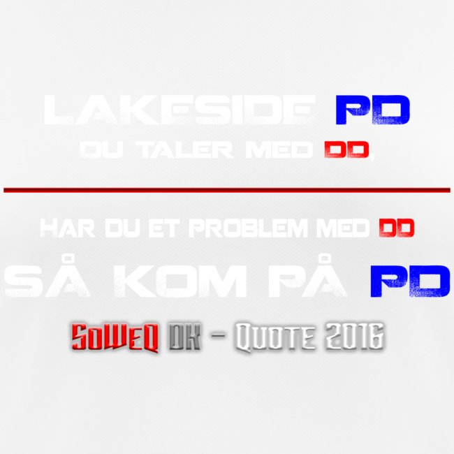 DD på PD Kollektion 2016