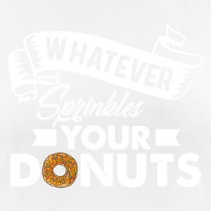 donuts - Women's Breathable T-Shirt