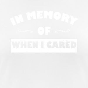In memory ... funny sayings - Women's Breathable T-Shirt
