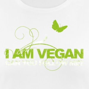 I AM VEGAN. CAN YOU FOLLOW ME? - Women's Breathable T-Shirt