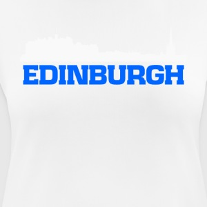 Edinburgh Scotland skyline tee - Women's Breathable T-Shirt