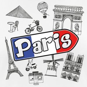 I love Paris - Women's Breathable T-Shirt