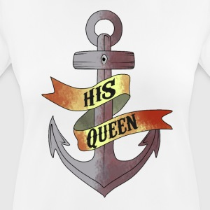 His Queen - Women's Breathable T-Shirt