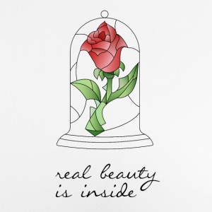 REAL BEAUTY IS INSIDE - Frauen T-Shirt atmungsaktiv