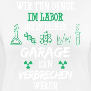 Kemi / Laboratorie / Lab / Science / laborant / kemiker - Dame T-shirt svedtransporterende
