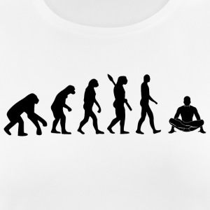 evolution YOGA b - Frauen T-Shirt atmungsaktiv