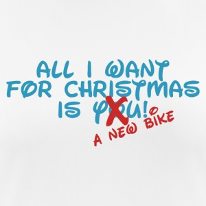 All i want for Christmas - Bike - Women's Breathable T-Shirt