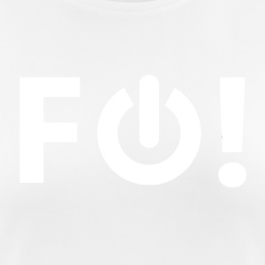 F Off! (white) - Women's Breathable T-Shirt