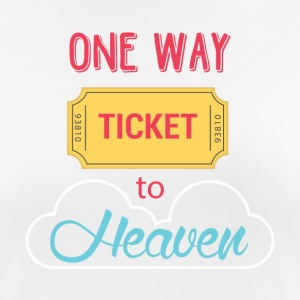 One Way Ticket to Heaven - Frauen T-Shirt atmungsaktiv