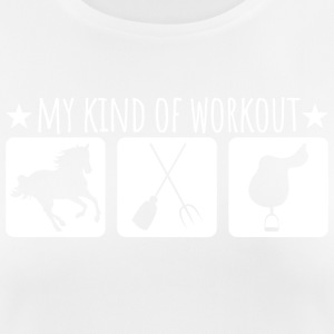 My kind of workout - Women's Breathable T-Shirt
