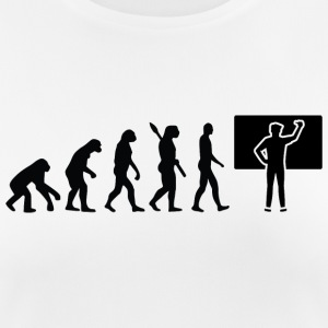Evolution lärare lärare School Black - Andningsaktiv T-shirt dam