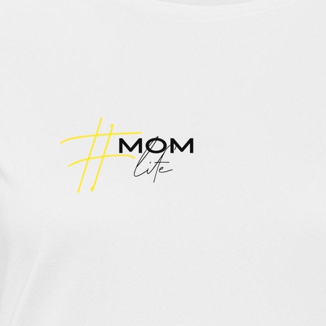 mom life gelb/schwarz