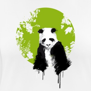panda world, earth, watercolor, painting color extend u - Women's Breathable T-Shirt