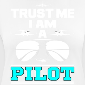 Trust me i am a pilot blue png - Women's Breathable T-Shirt