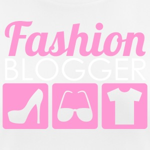 Fashion Blogger - Pustende T-skjorte for kvinner