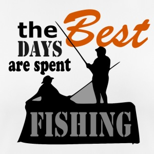 Best Days - Fishing - Frauen T-Shirt atmungsaktiv