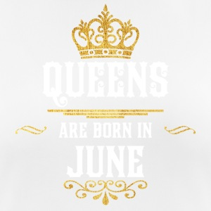 Queensborn June! Happy Birthday June! - Women's Breathable T-Shirt