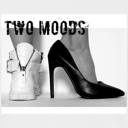 N.K Two Moods Valkoinen - naisten tekninen t-paita