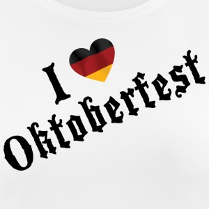 I Love Oktoberfest - Women's Breathable T-Shirt