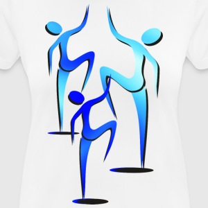 Trio silhouettes - Women's Breathable T-Shirt