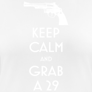 Keep Calm and Grab a 29 revolver t-shirt - Women's Breathable T-Shirt