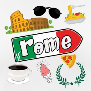 I love Rome - Women's Breathable T-Shirt