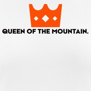 QOM QUEEN OF THE MOUNTAIN - Frauen T-Shirt atmungsaktiv