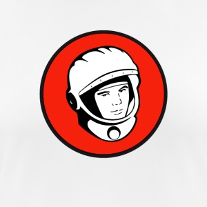 juri gagarin cosmonaut USSR space rocket raumfa - Women's Breathable T-Shirt