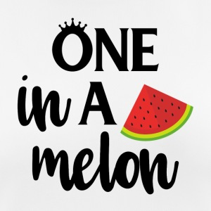 One in a melon - black - Women's Breathable T-Shirt