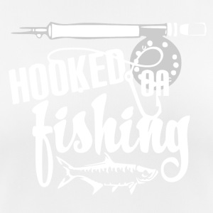 Hooked on Fishing - Fishing - Frauen T-Shirt atmungsaktiv