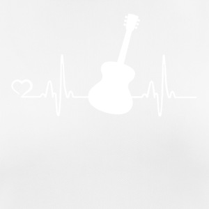 Guitar - heart beat - Women's Breathable T-Shirt