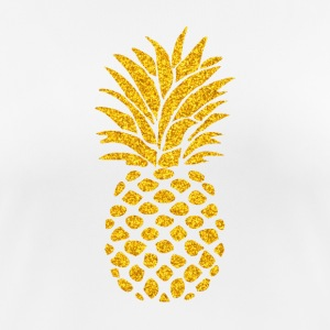 Pineapple Summer Vibe - Dame T-shirt svedtransporterende