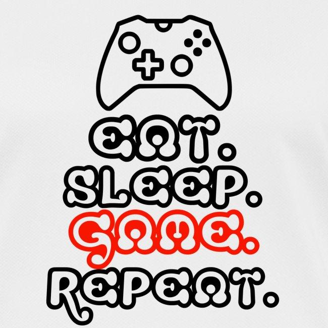 Eat. Sleep. Game. Repeat.