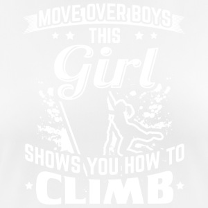 Climb MOVEOVER - Women's Breathable T-Shirt