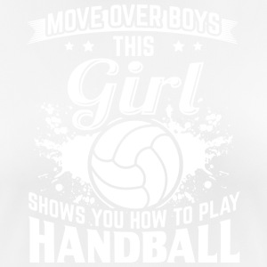handbal MOVE OVER boys - vrouwen T-shirt ademend
