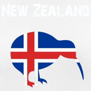 Nation-design New Zealand - Dame T-shirt svedtransporterende
