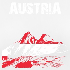 Nation-Design Østrig Grossglockner - Dame T-shirt svedtransporterende