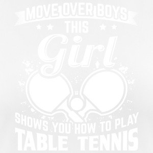 Table tennis MOVEOVER - Women's Breathable T-Shirt