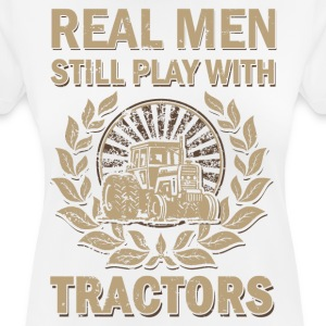 Tractors for real men - Women's Breathable T-Shirt